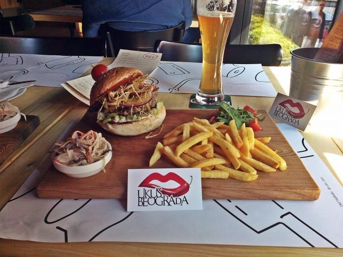 Rib'z burger