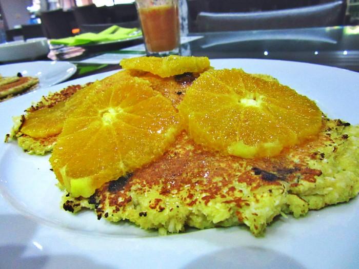 Proteinske palačinke sa pomorandžom i kokosom