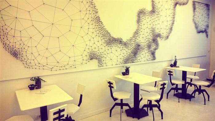Laboratorija kafe - enterijer