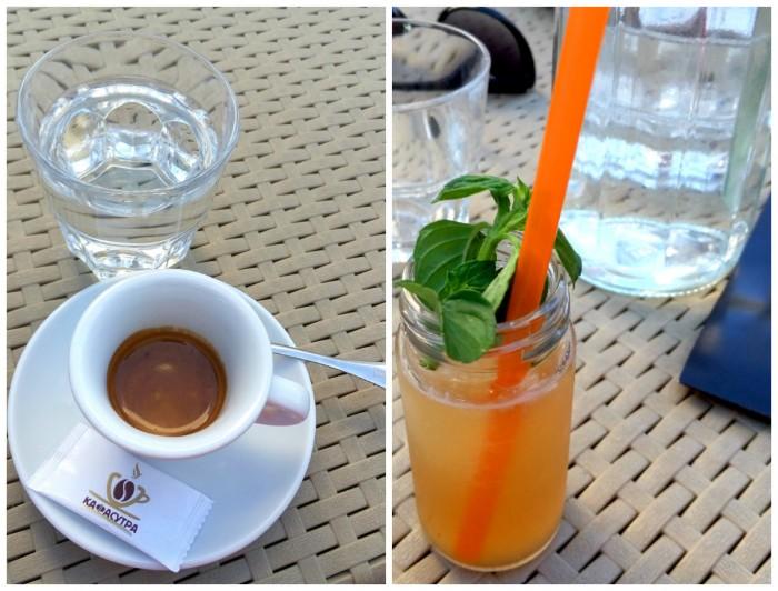 espresso & ice tea breskva
