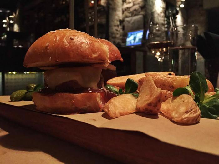 Trio mini burgera