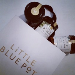Little Blue pot