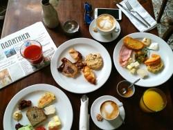 Homa Bistrot - doručak