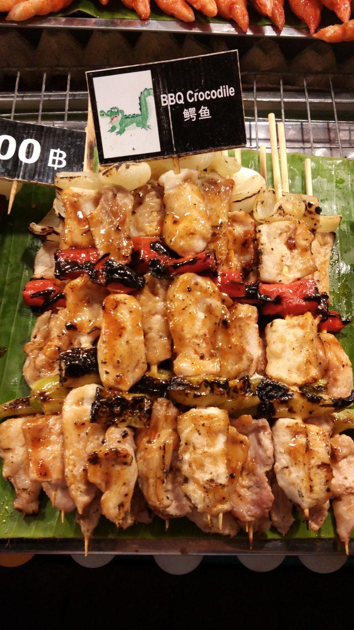 Krokodilsko meso na roštilju