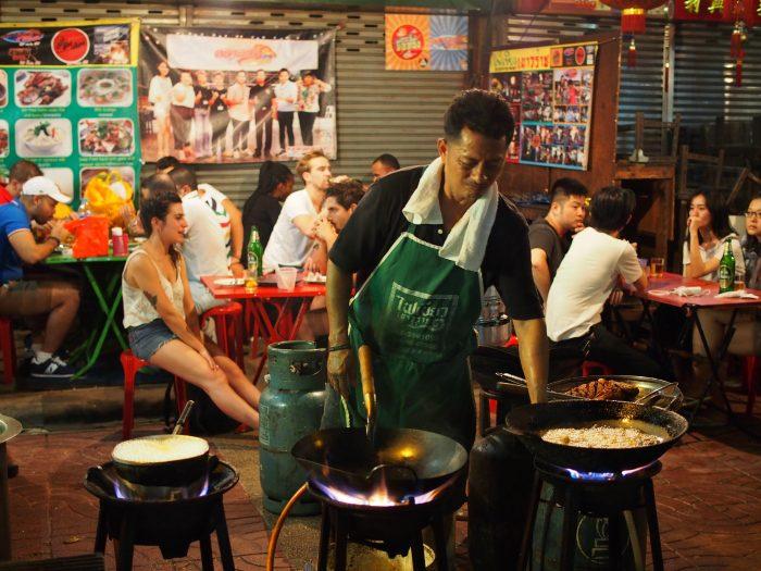 Priprema hrane - Kineska četvrt u Bangkoku