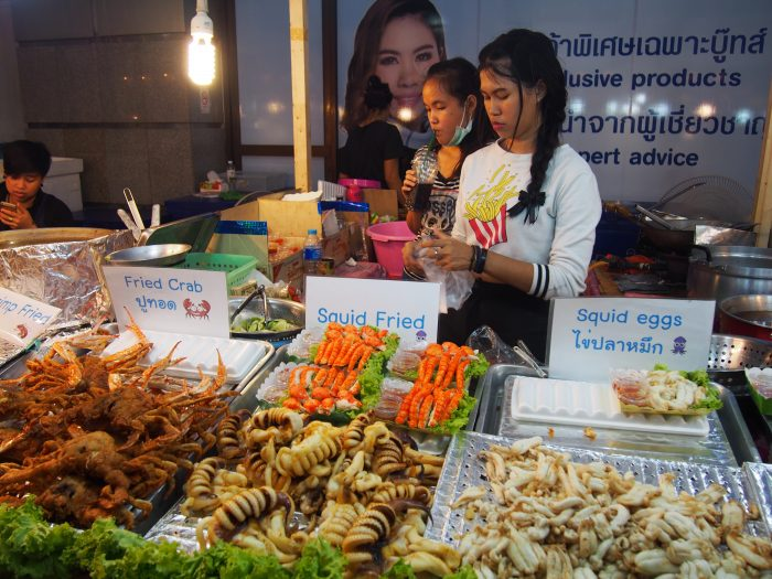 Street food na ulicama Patonga, Puket