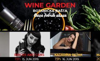 Wine Garden koncerti